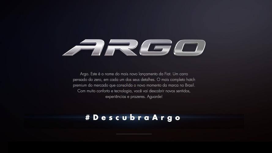 Fiat Argo: este é o nome do novo hatch que substitui Punto e Bravo