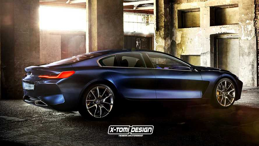 BMW 8 Series Gran Coupe, Shooting Brake, And Pickup Imagined