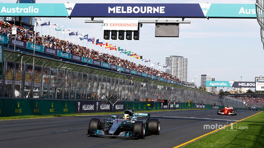 Lewis Hamilton, Mercedes AMG F1 W08, leads Sebastian Vettel, Ferrari SF70H and Valtteri Bottas, Mercedes AMG F1 W08