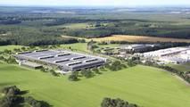 Mercedes usine