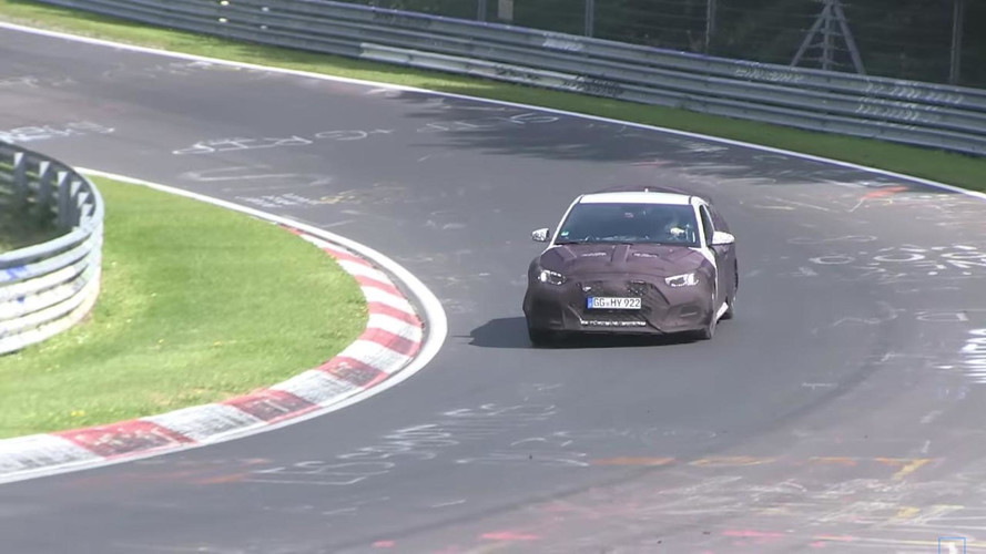 Hyundai Veloster N Nürburgring Video