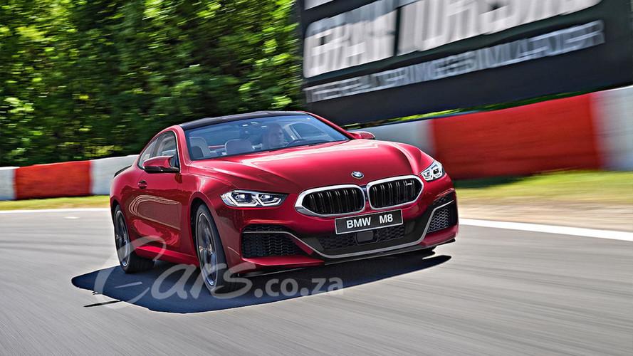 BMW M8 render üretime hazır görünüyor