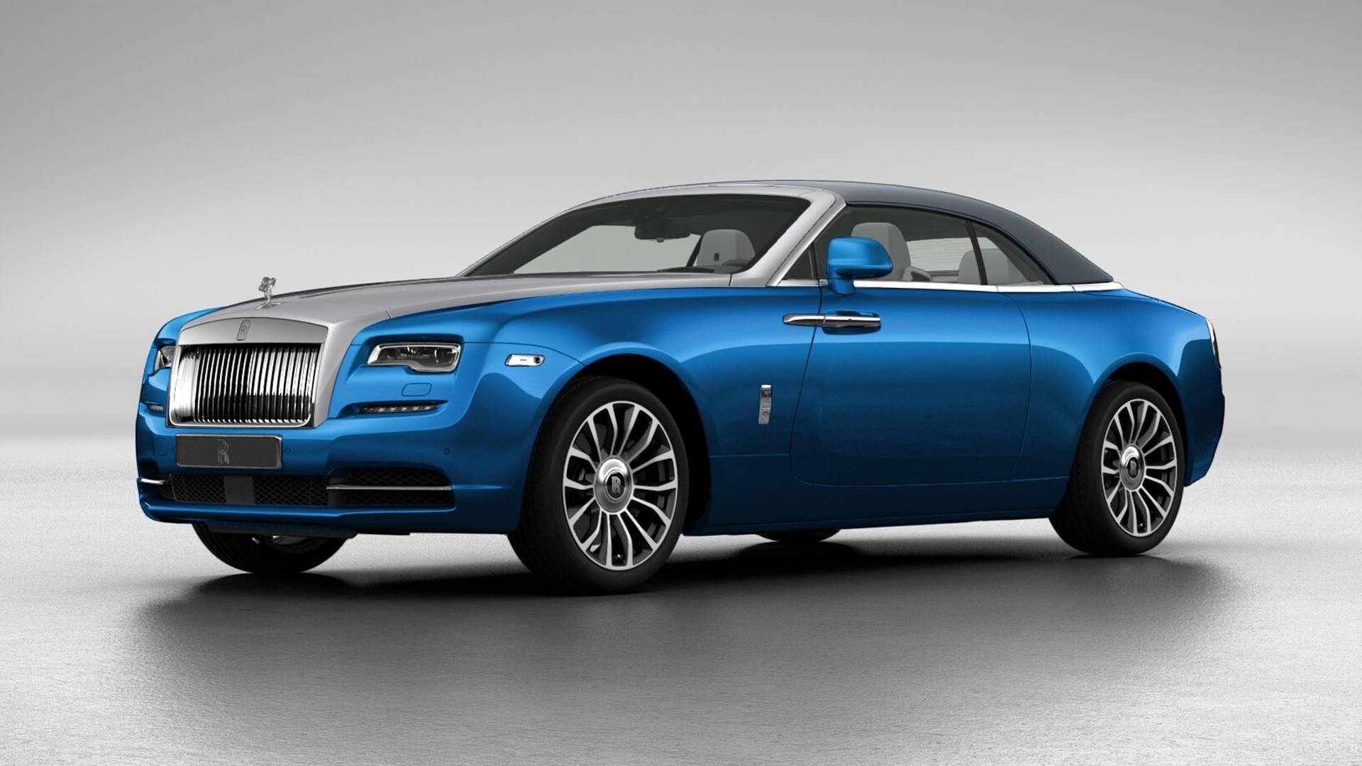 rolls royce dawn dark blue. Rolls Royce Dawn Dark Blue