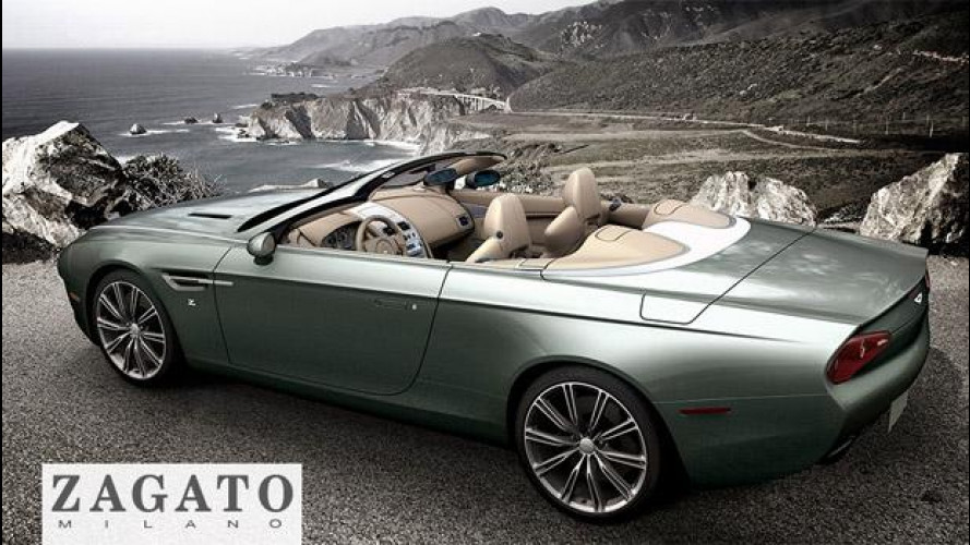 Aston Martin DBS Coupé Zagato Centennial e DB9 Spider Zagato Centennial
