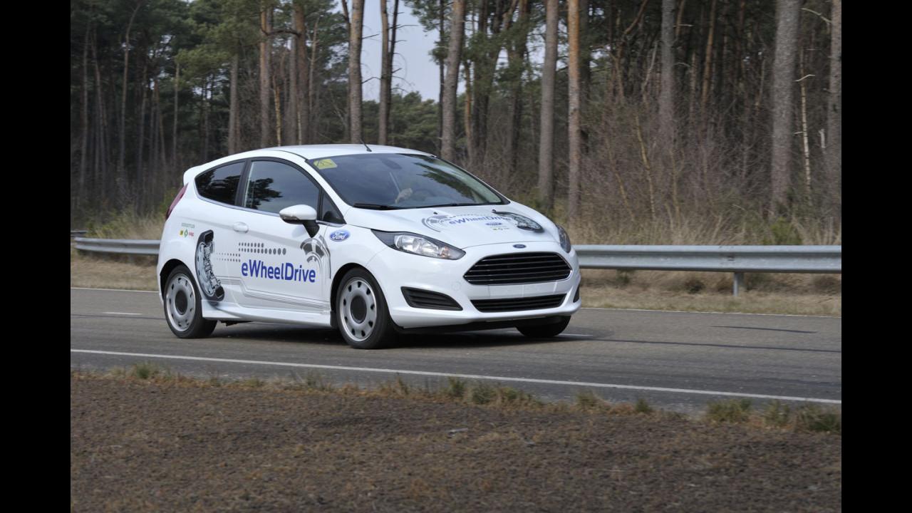 Ford Fiesta eWheelDrive