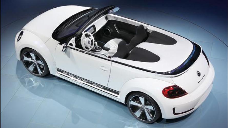 Volkswagen E-Bugster: il Maggiolino elettrico si scopre