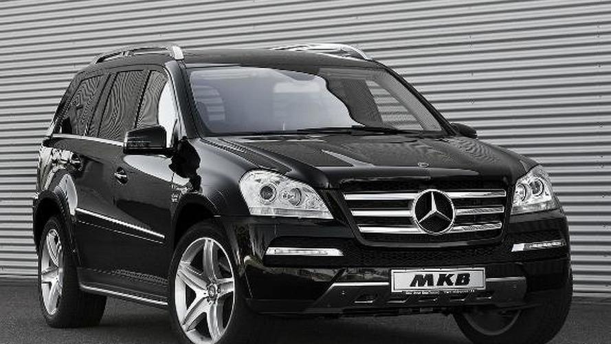 Mercedes GL gets a V12 engine transplant by MKB