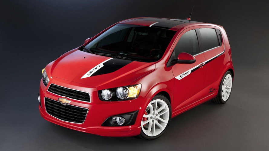 Chevy previews small cars for SEMA
