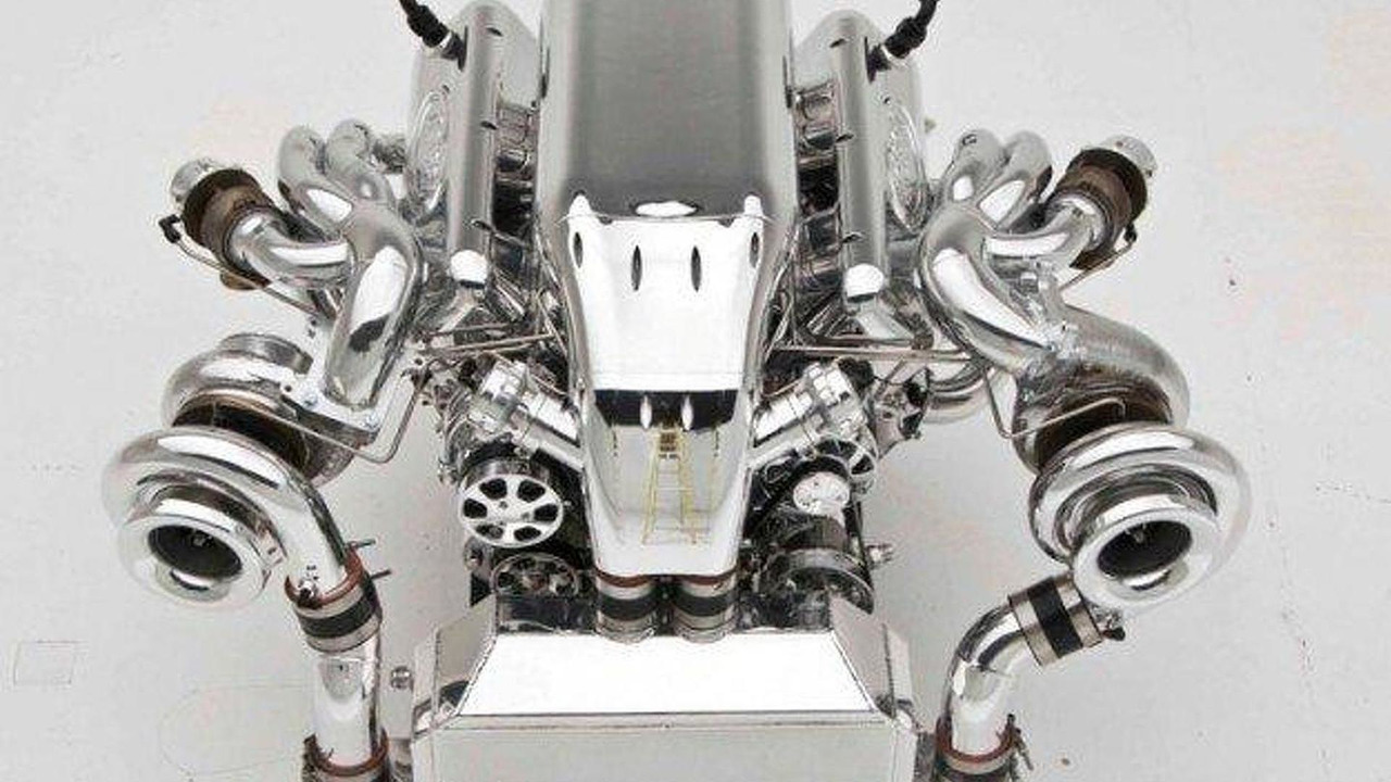 1400 hp 10.4 liter twin-turbo V8 by Nelson Racing Engines 09.11.2011
