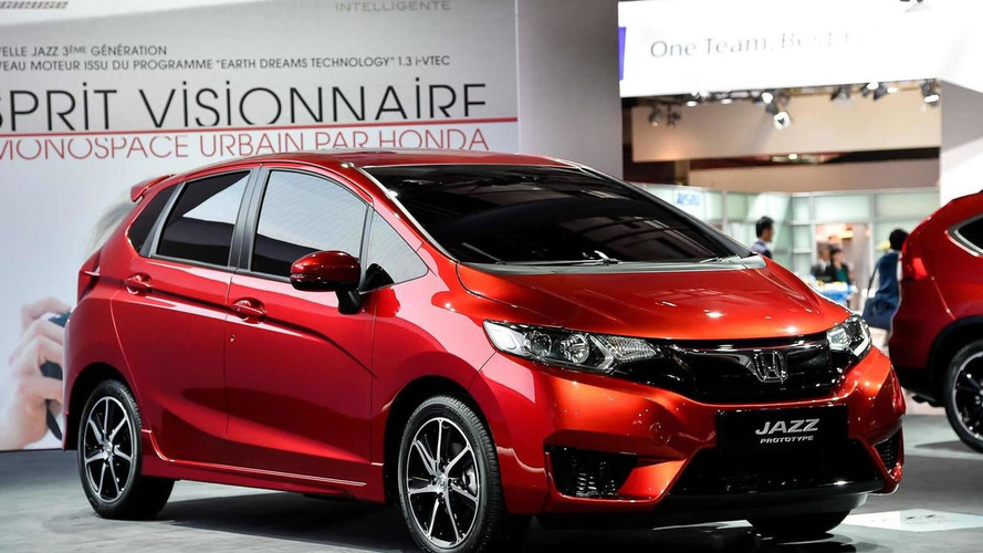 2015 Honda Jazz prototype arrives in European specification at Paris Motor Show