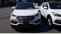 Hyundai Santa Fe facelift spy photo / Terranismo