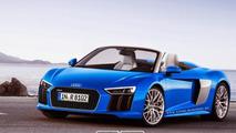 Audi R8 Spyder render