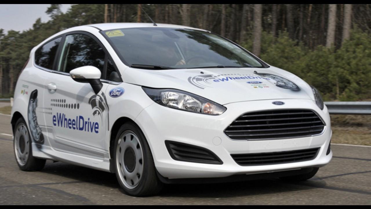 Ford mostra conceito de Fiesta elétrico na Europa