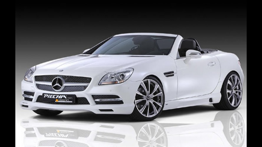 Mercedes-Benz SLK ganha kit visual da Piecha Design