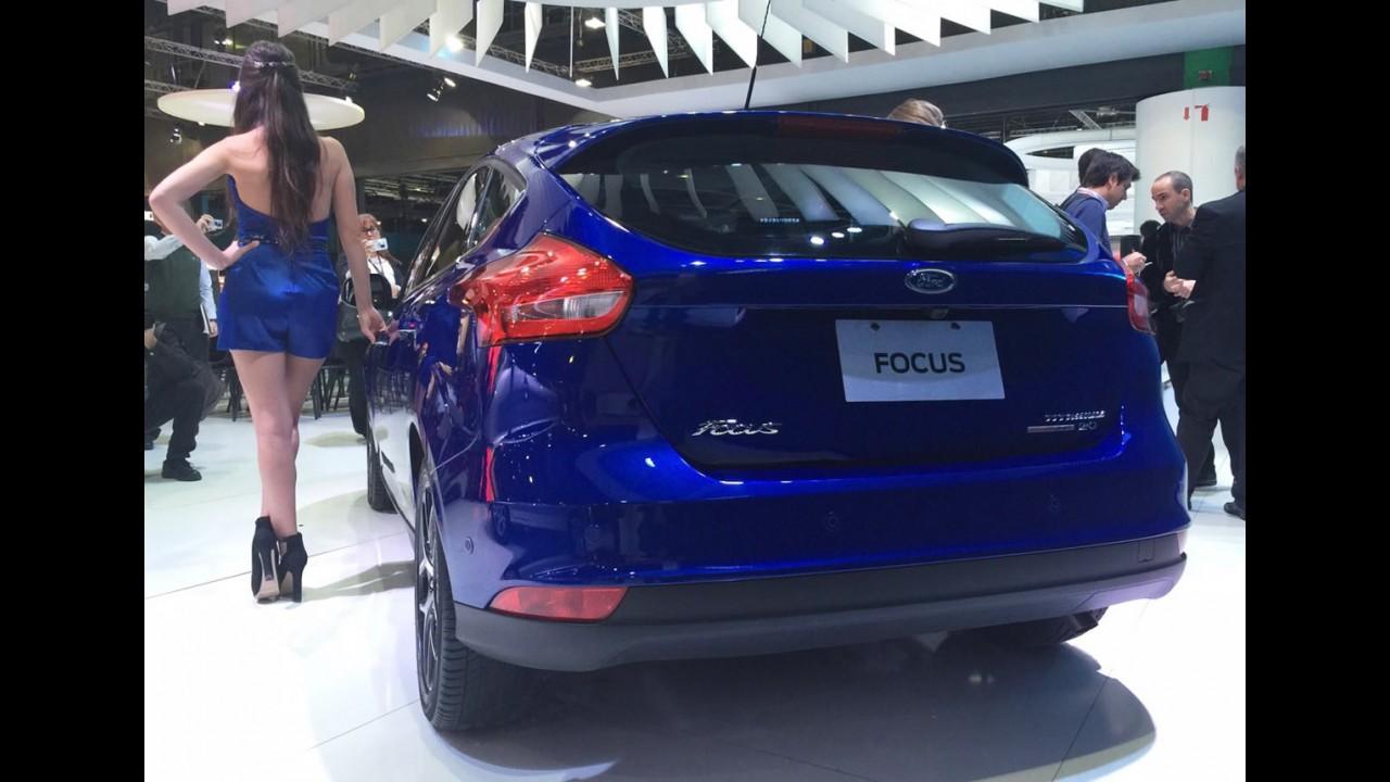 Buenos Aires: novo Focus fica mais refinado e perde a versão S