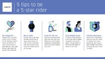Uber yolcu kuralları
