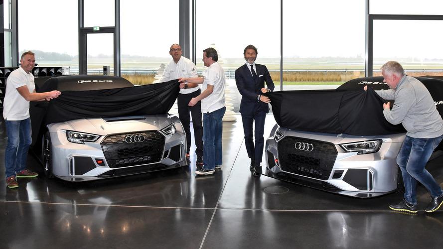 Audi'nin normal RS3'ten yavaş olan yarış araçlarının teslimatı başladı