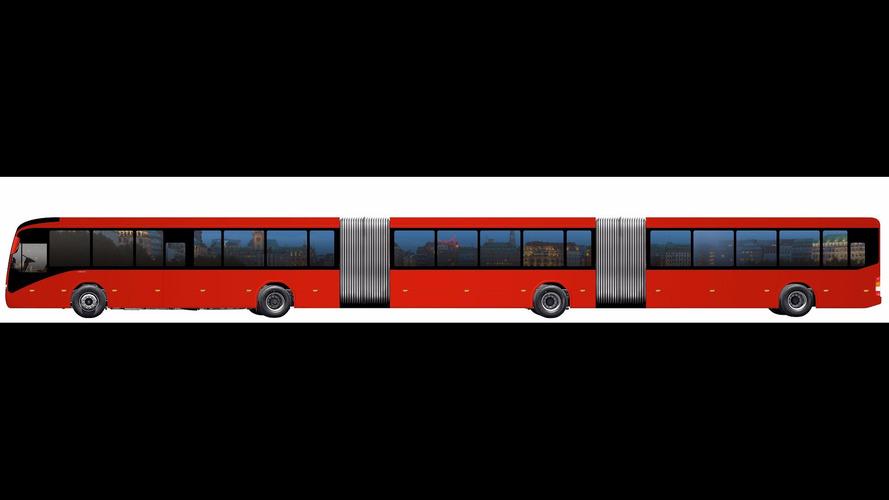 Dünyanın en büyük otobüsü