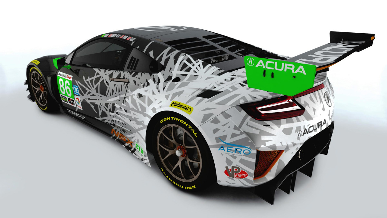 2017 Acura NSX Liveries
