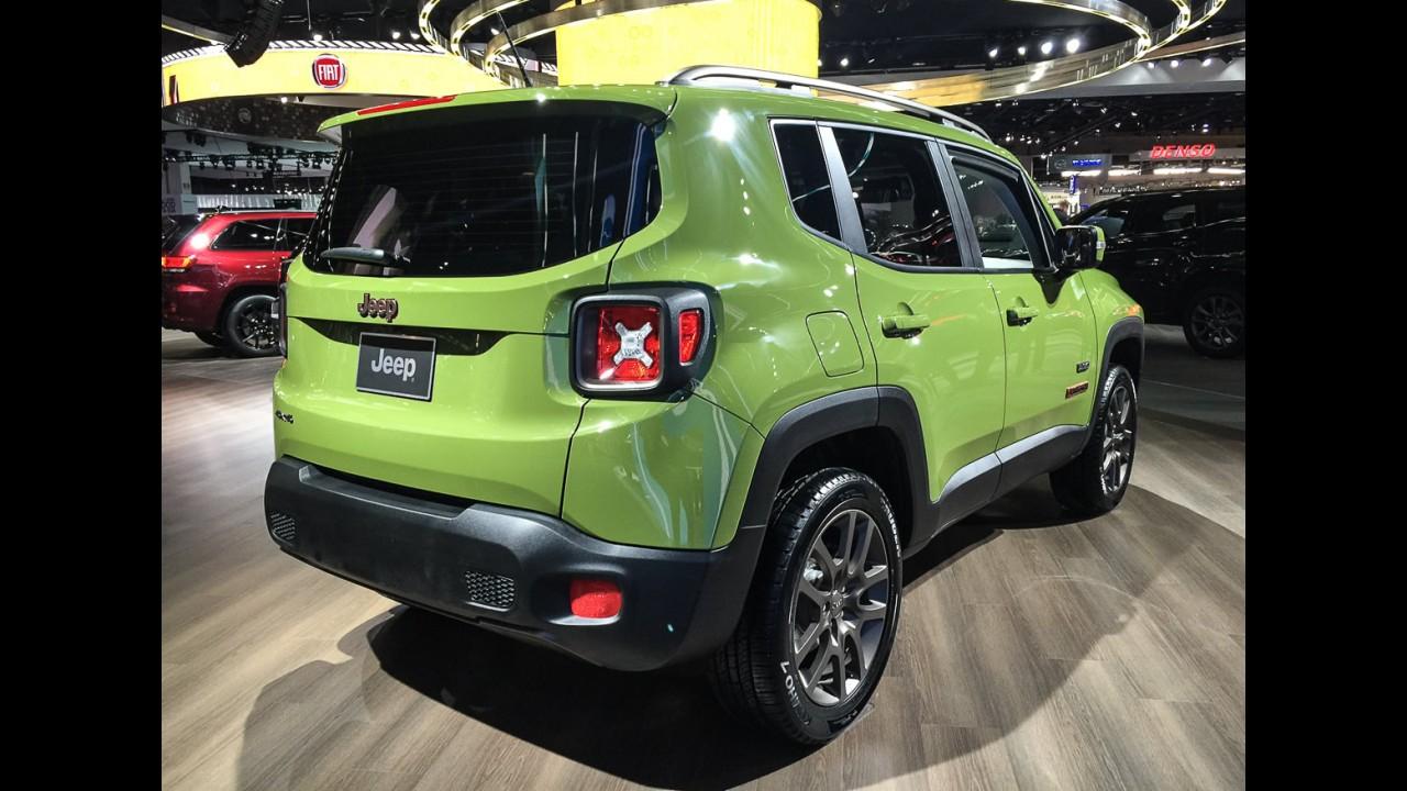 """Salão de Detroit: Renegade edição """"Jeep 75 Anos"""" será lançado no Brasil"""