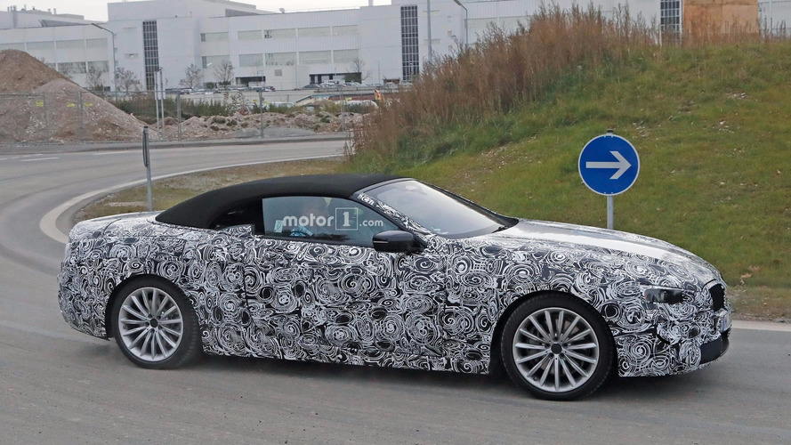 2018 bmw 6 series convertible. beautiful bmw future bmw 6 or 8 series spied as convertible for first time inside 2018 bmw series