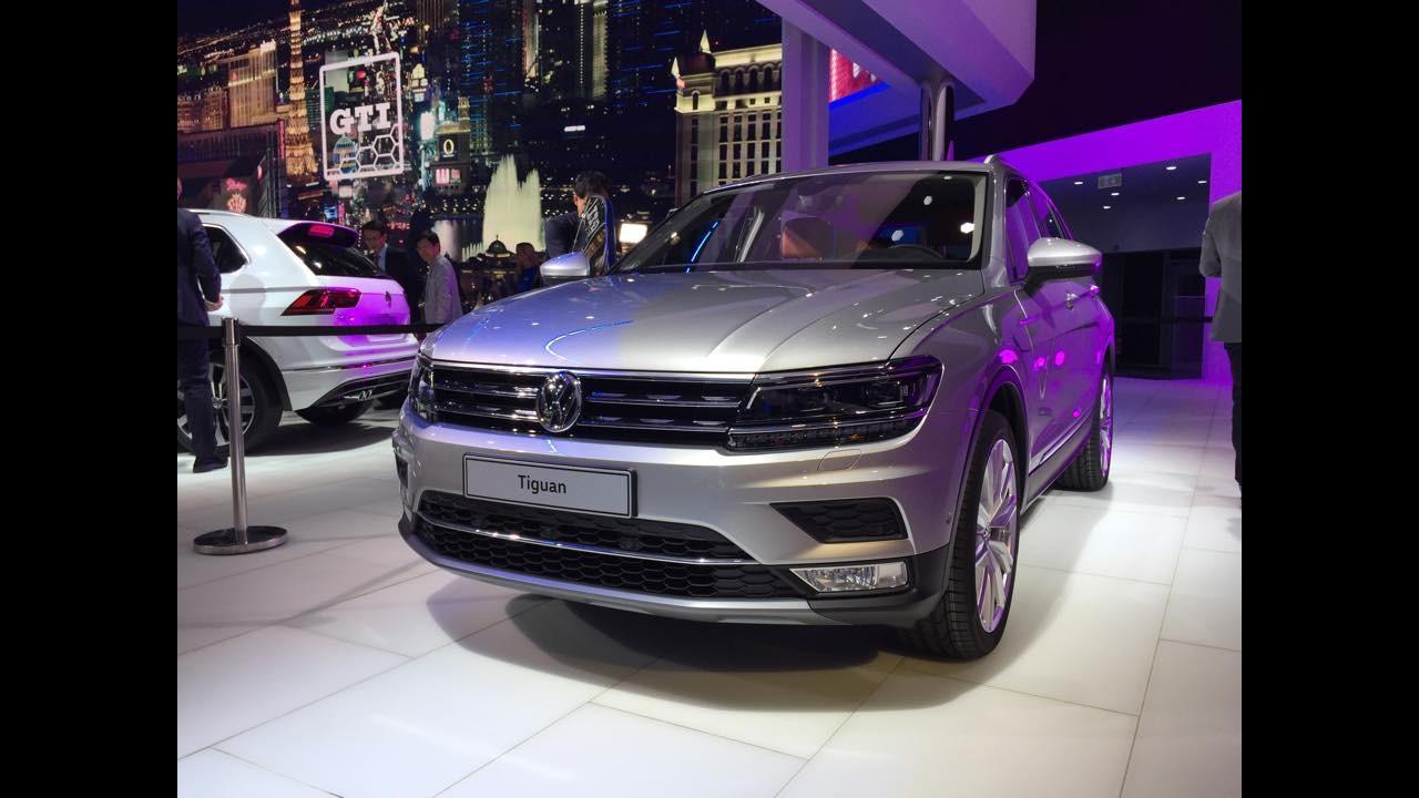 Frankfurt: Tiguan 2016 cresce e incorpora nova identidade da Volks