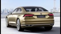 VW C Coupé GTE antecipa nova geração do Phaeton no Salão de Xangai