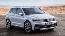 VW Tiguan 2017 R line blanco