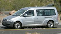 New VW Sharan Spy Photos