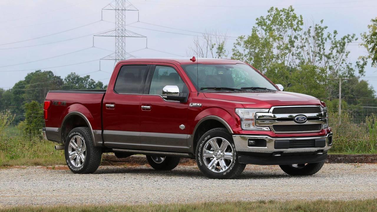 9. Full-Size Pickup Trucks: Ford F-150
