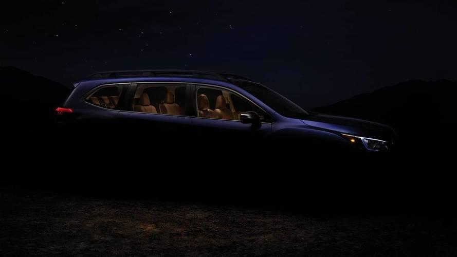 Subaru, Ascent'in büyük gövdesinin teaser'ını yayınladı