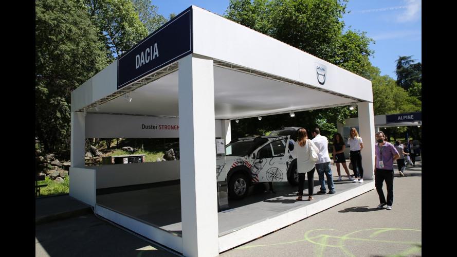 Dacia a Parco Valentino 2017