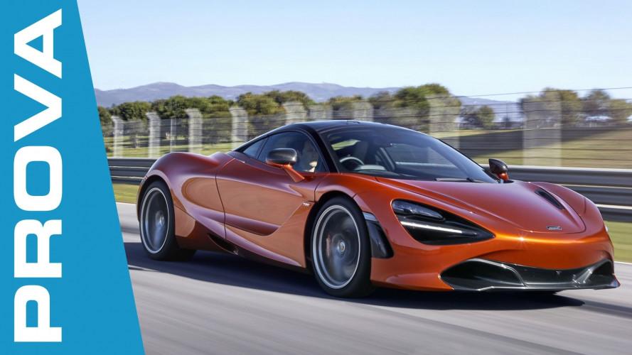 McLaren 720S, incredibilmente facile