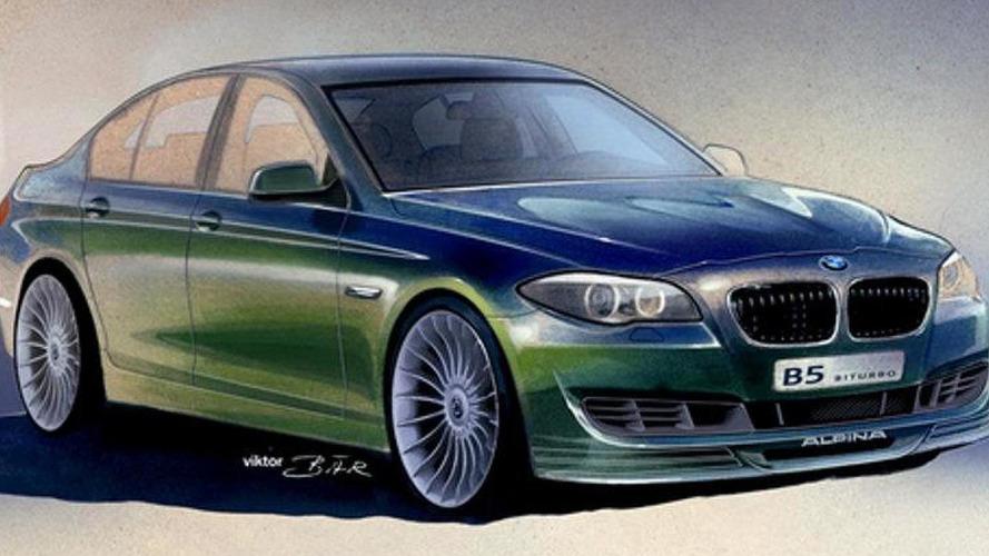 BMW Alpina B5 F10 Bi-Turbo teaser released