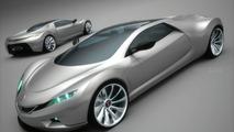 Saab Spyker 9+ Tribute Concept Car