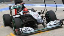Michael Schumacher (GER), Mercedes GP Petronas - Formula 1 World Championship, Rd 4, Chinese Grand Prix, Friday Practice