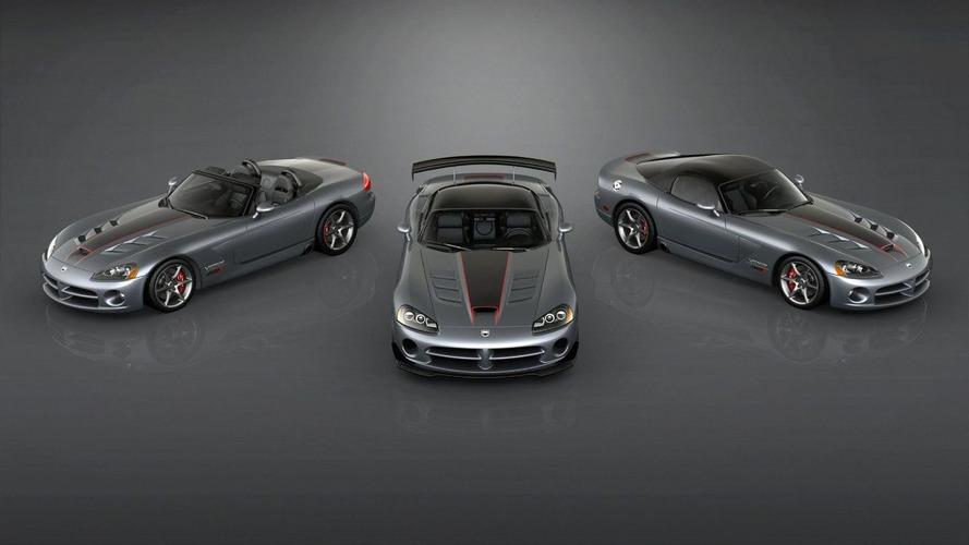 2010 Dodge Viper SRT10 Final Edition Models Announced