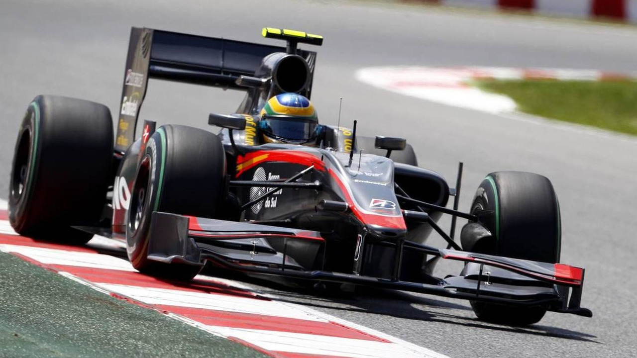 Bruno Senna (BRA), Hispania Racing F1 Team HRT, Spanish Grand Prix, 08.05.2010 Barcelona, Spain