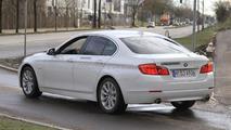 BMW 5-Series Hybrid spied