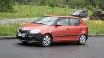 2010 Skoda Fabia facelift spy photo