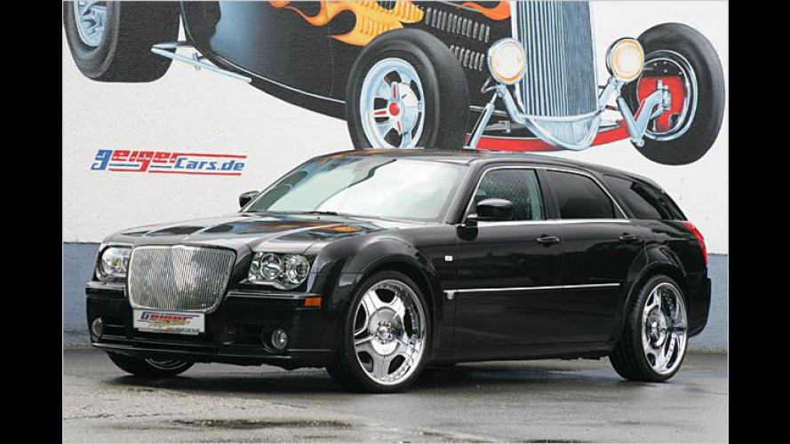 Stärkere Saiten aufgezogen: Geiger tunt Chrysler 300C SRT8