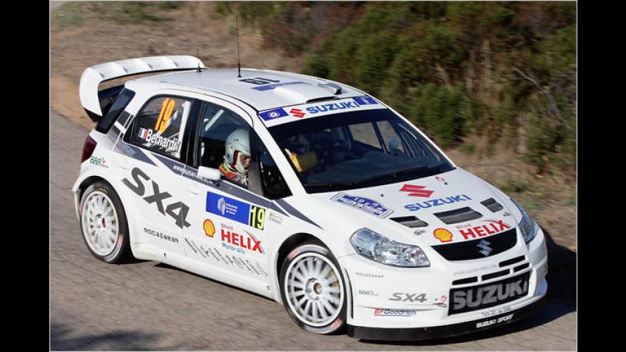 Rallye-Weltmeisterschaft: Suzuki steigt mit SX4 groß ein