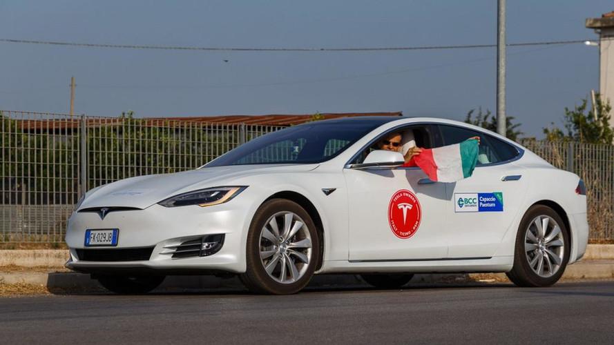Tesla Model S 2017, más de 1.000 kilómetros con una sola carga