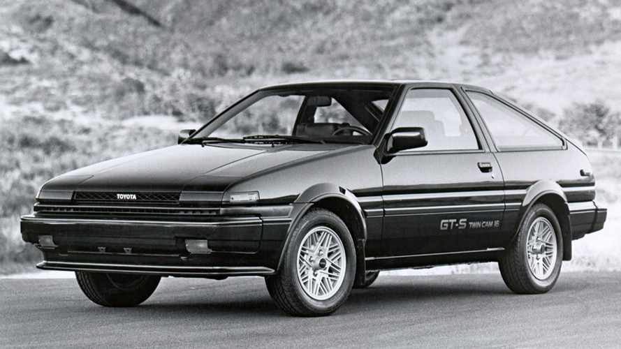A 1983 Toyota Corolla GT-S