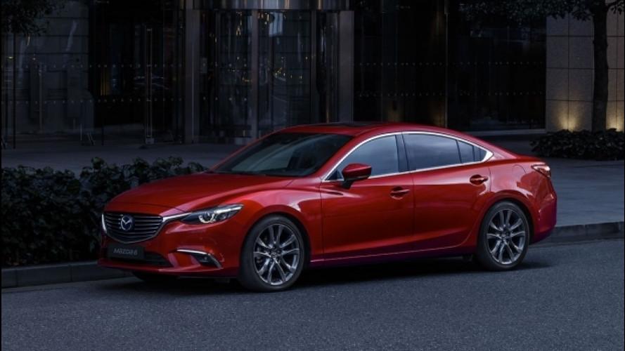 Mazda 6 restyling, più confort e sicurezza