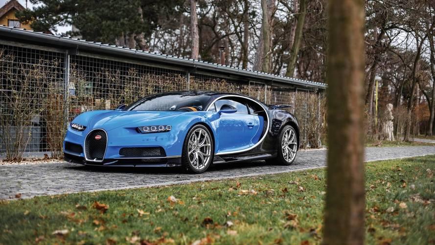 Bugatti Chiron 2018: a subasta por 3,6 millones de euros