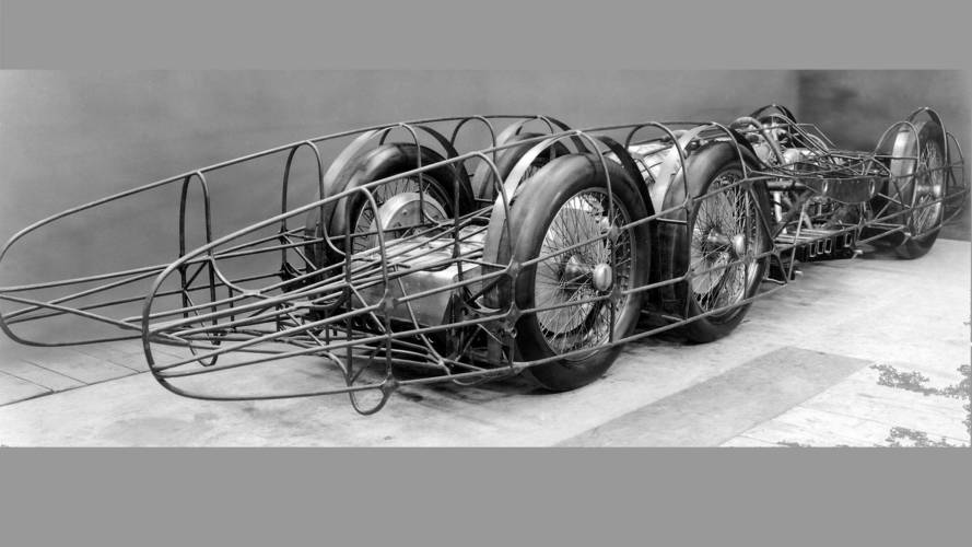 1939 Mercedes T 80 designed by Ferdinand Porsche