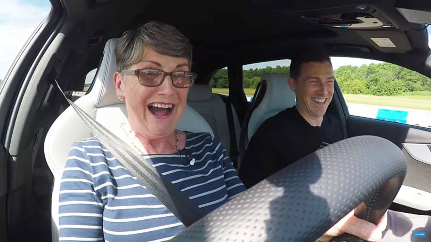 Watch This Grandma Drive An Audi RS4  Avant Like She Stole It