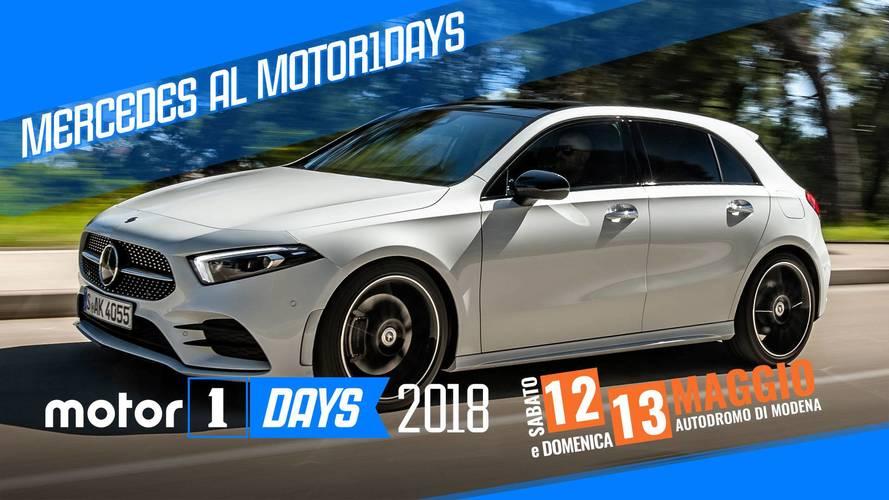 Mercedes tra drift ed high-tech al Motor1Days 2018