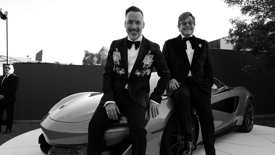 McLaren Donates 570S Spider Worth $947,650 To Elton John's Charity
